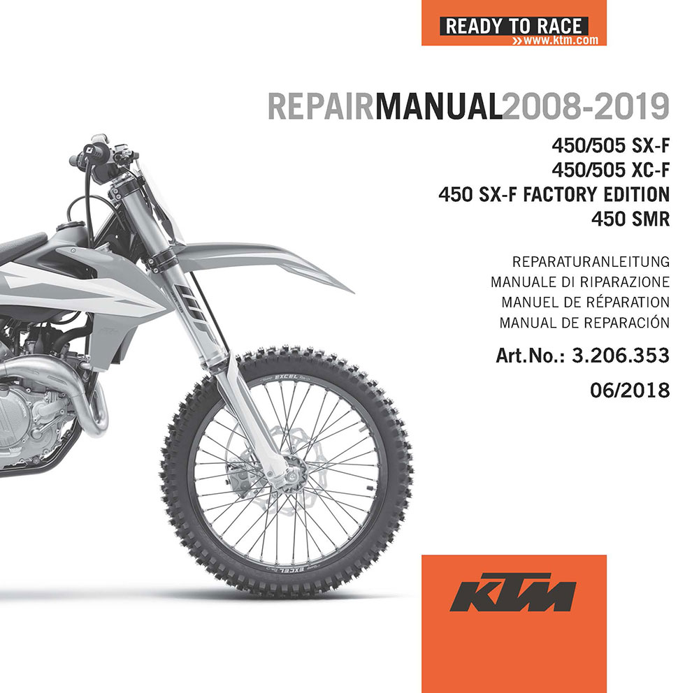 medium resolution of ktm 500 exc service manual