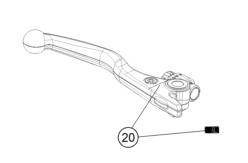 AOMC.mx: KTM OEM Brake Lever 2014-2017
