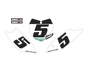 AOMC.mx: KTM Ryan Dungey Number Plate Decal Kit