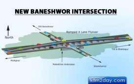 Construction of Baneshwor flyover within this year