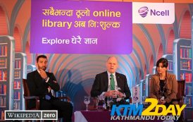 Ncell offers free browsing on Wikipedia