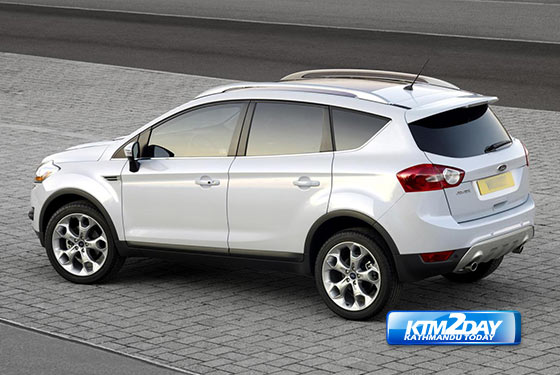 ford kuga launched in nepal. Black Bedroom Furniture Sets. Home Design Ideas