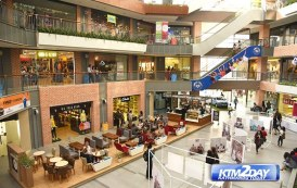 Shopping Malls in valley observe drop in sales