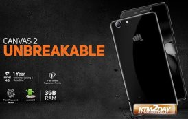 Micromax launches Unbreakable Canvas 2 Q4310
