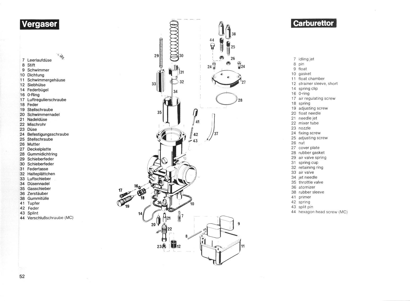 KTM 250GS/MX 1981 manual