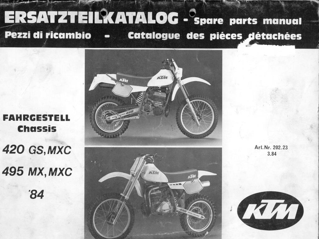 hight resolution of ktm parts manual