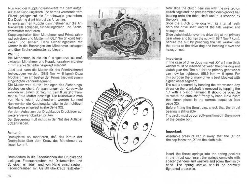 KTM495 Owner's Repair manual, 1982