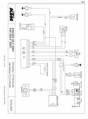 505sxatv no spark please help!