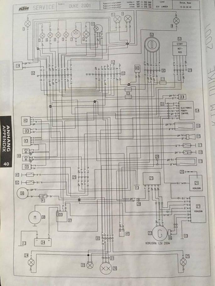 ktm 640 lc4 wiring diagram wiring diagram
