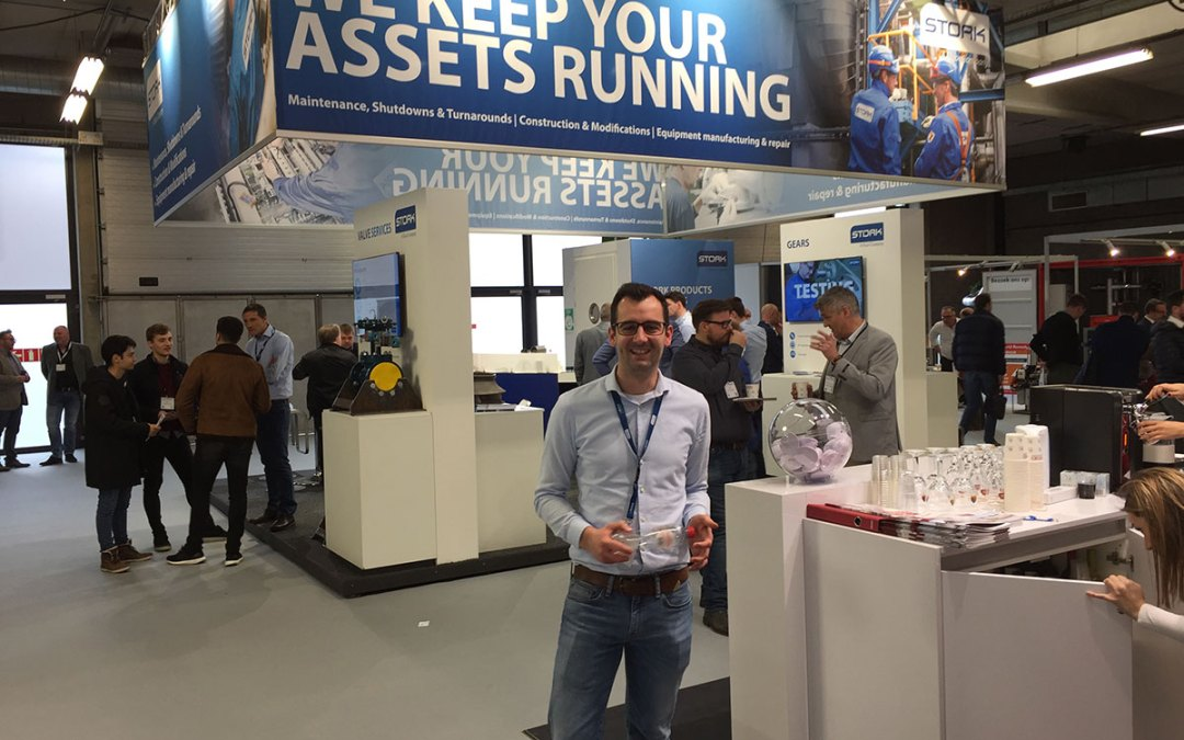 Stork present on Pumps and Valves fair Antwerp