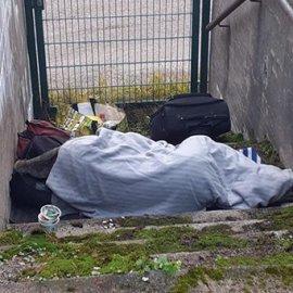 Asunnottomille inhimilliset olosuhteet