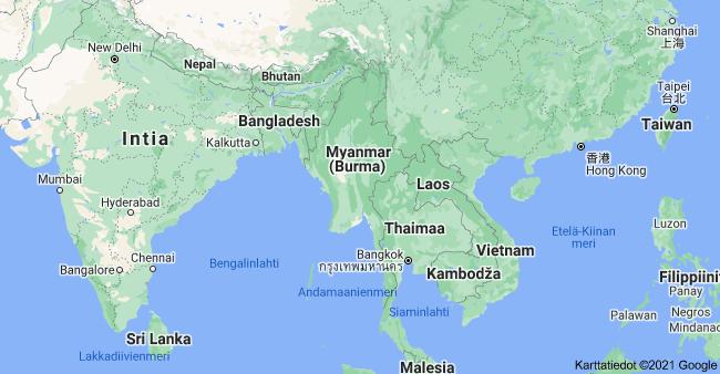 Myanmarin kriisi ja sen tausta