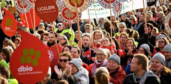 Tanskan sairaanhoitajat taistelevat oikeuksistaan