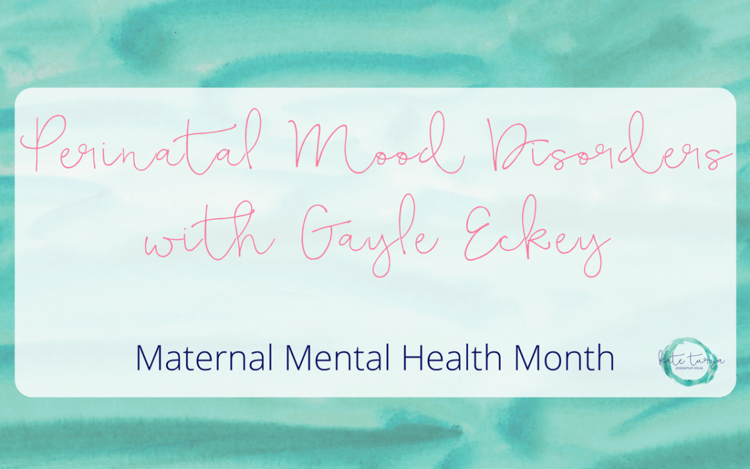 Maternal Mental Health Awareness Month