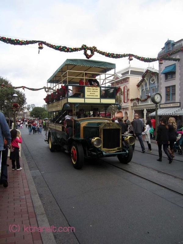 Anaheim Transit Disneyland Main St Vehicles