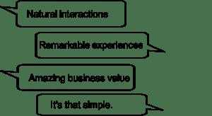 conversational service management