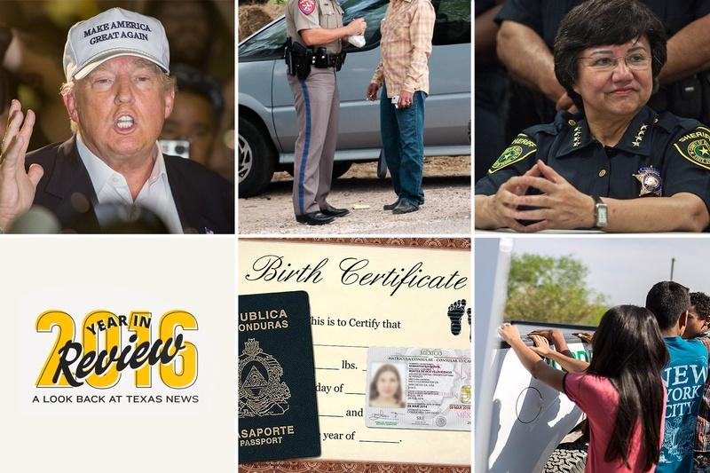 Trump's rhetoric and state's border surge colored