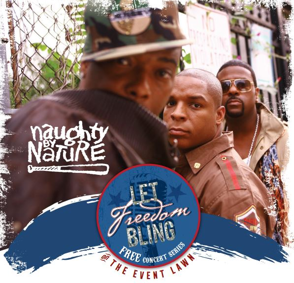 Naughty by Nature set to play free concert at Freedom Crossing