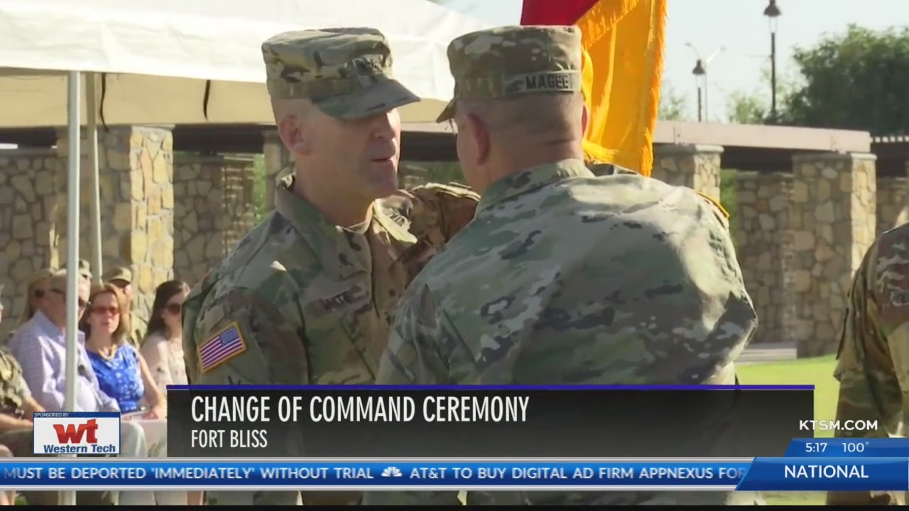 Bulldog Brigade welcomes new commander