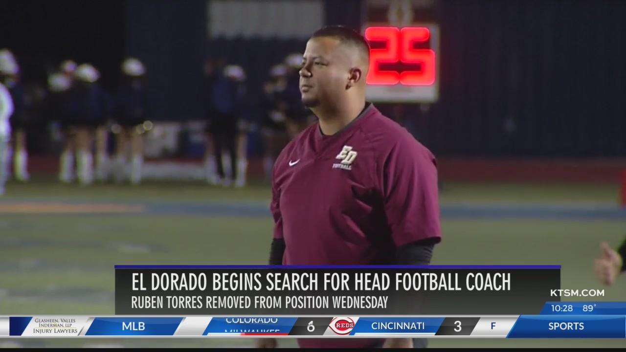 Torres out as El Dorado head football coach, athletic coordinator