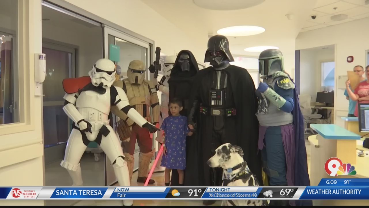 Star Wars fans visit El Paso Children's Hospital