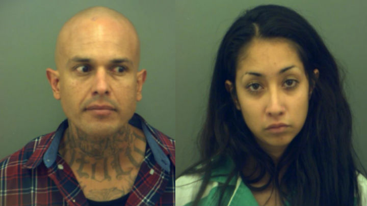 Two arrested after police recover 27 grams of meth, other drugs