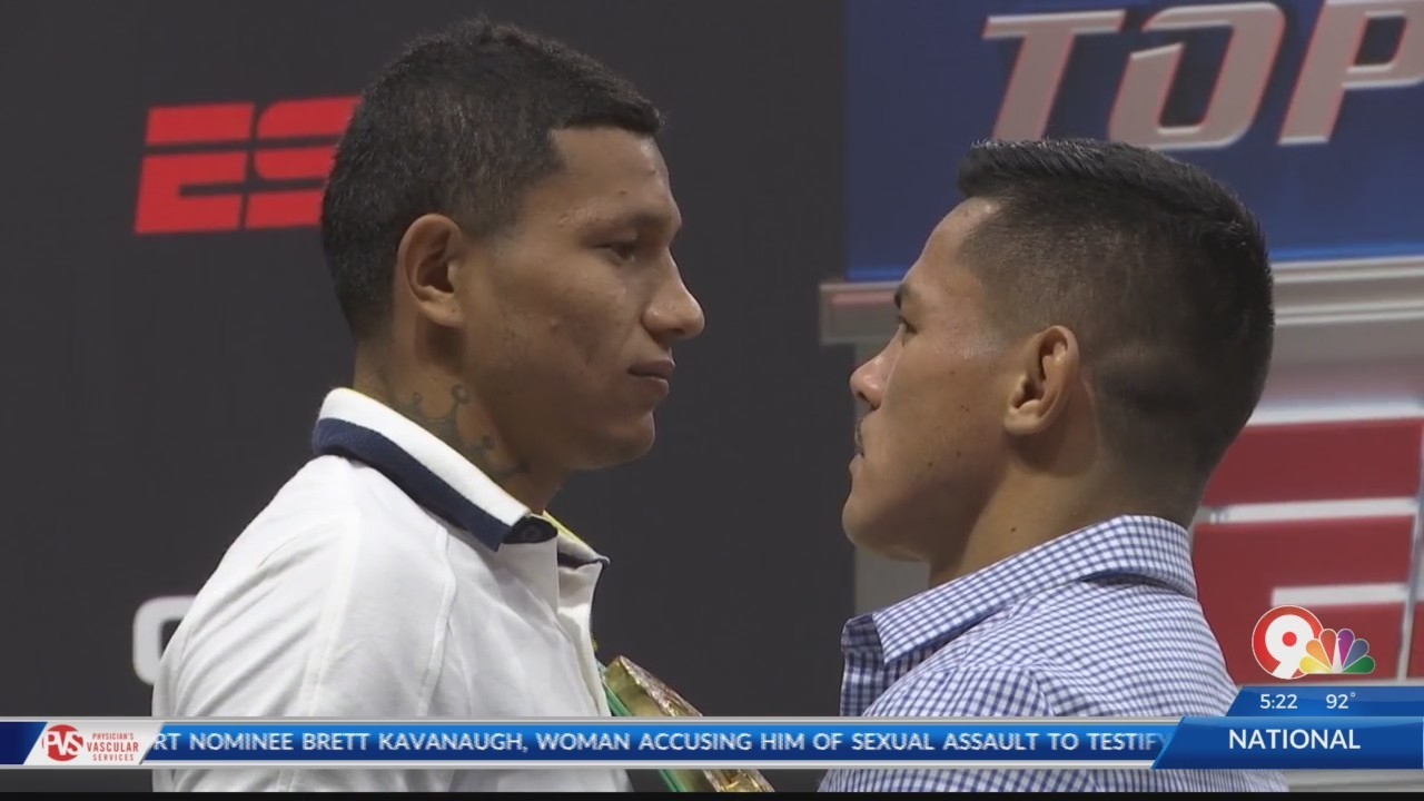 Berchelt, Roman to face off for WBC Super Featherweight Title at Don Haskins Center
