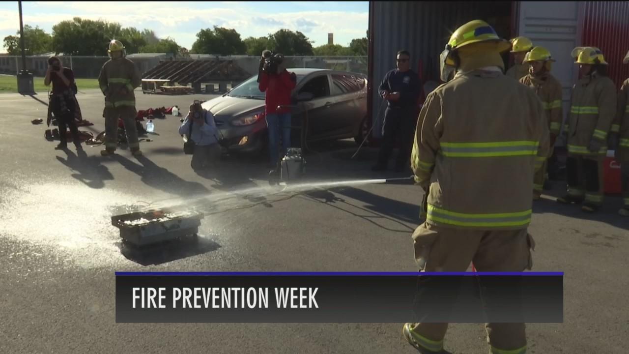 Fire Preparedness Week in El Paso
