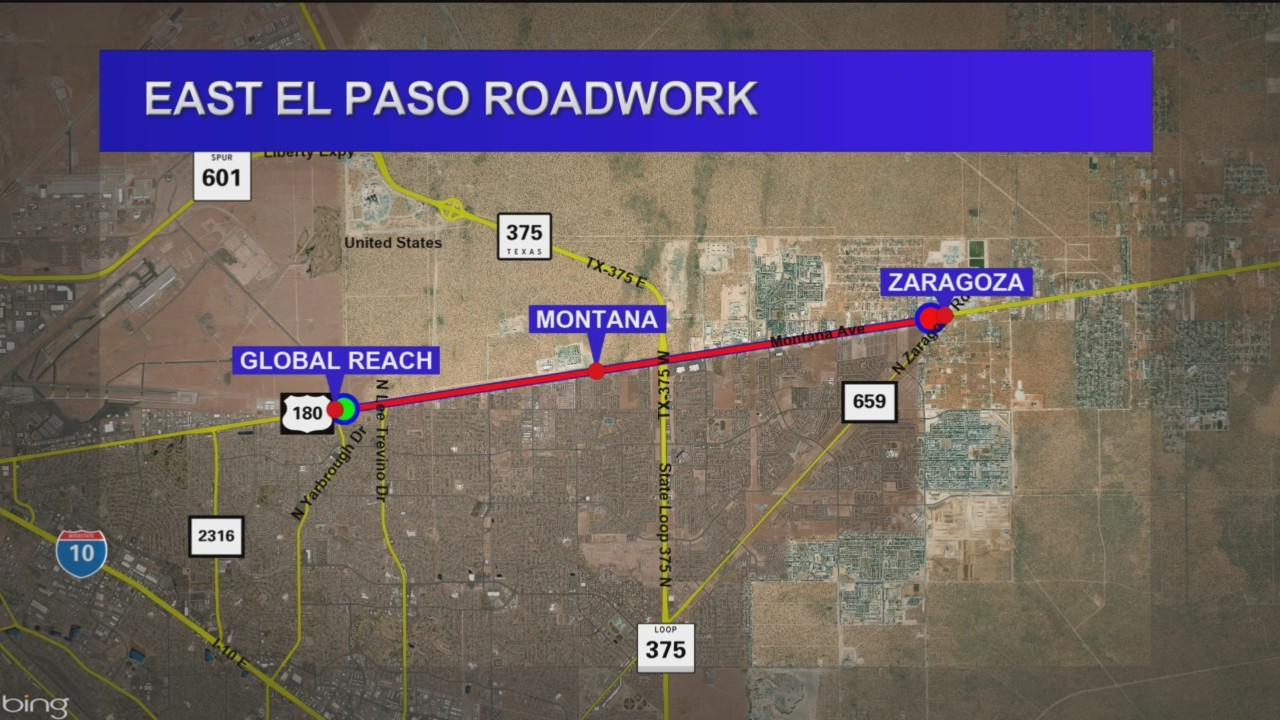 New project to increase capacity, improve safety along Montana in East El Paso