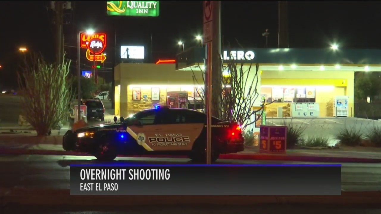 Shooting in East El Paso Monday morning