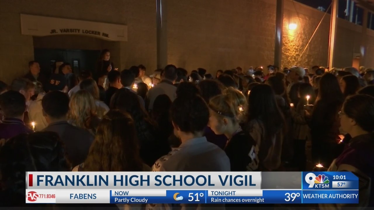 Franklin High School Candelight Vigil