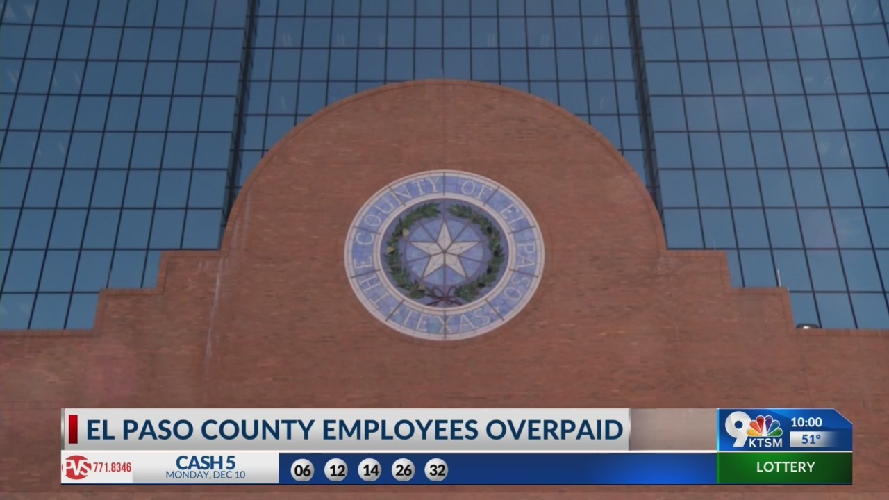 El Paso County overpays employees thousands of dollars following system switch