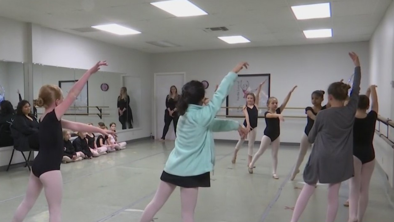 Local dancers in Nutcracker play