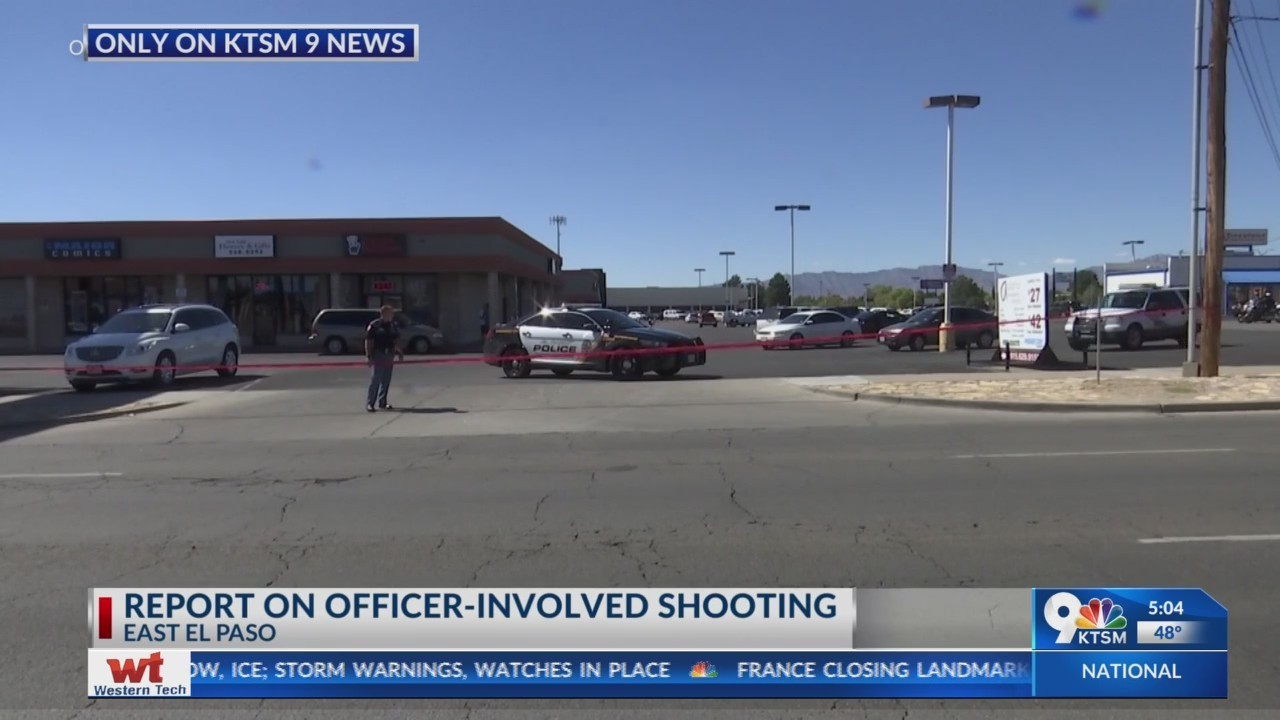 Police report: Suspect killed in officer-involved shooting had 'anti-police' history