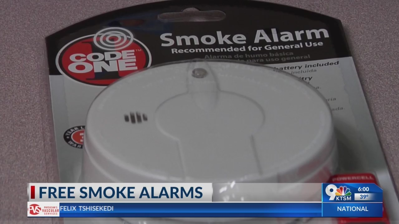 El Paso Fire Department is installing free smoke alarms