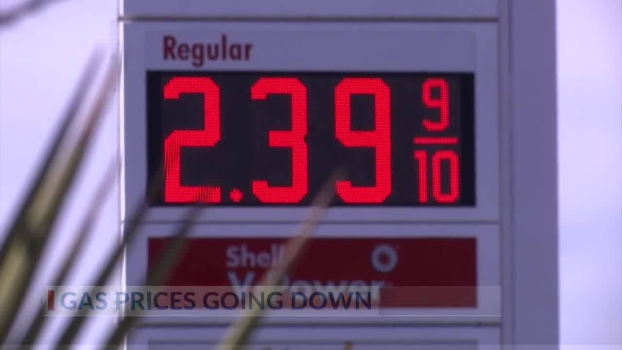 Gas Prices In Texas >> Texas Gas Prices Start 2019 Down More Than 30 Cents Year To Year