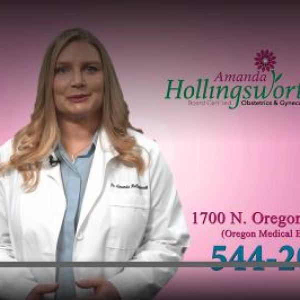 Wellness Wednesday-Amanda Hollingsworh OBGYN