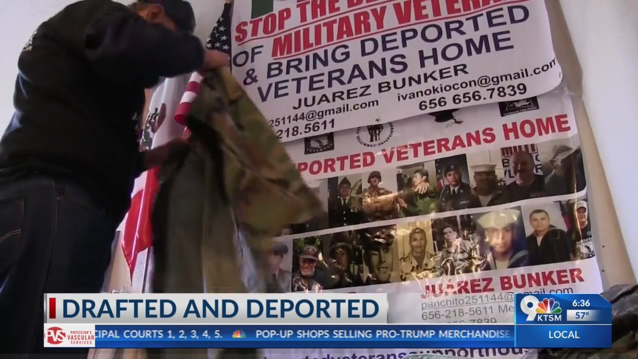 Deported veterans ask President Trump for their rights