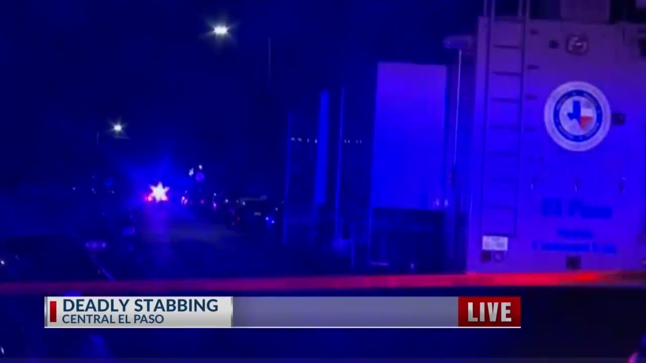 One man dead in Central El Paso Stabbing