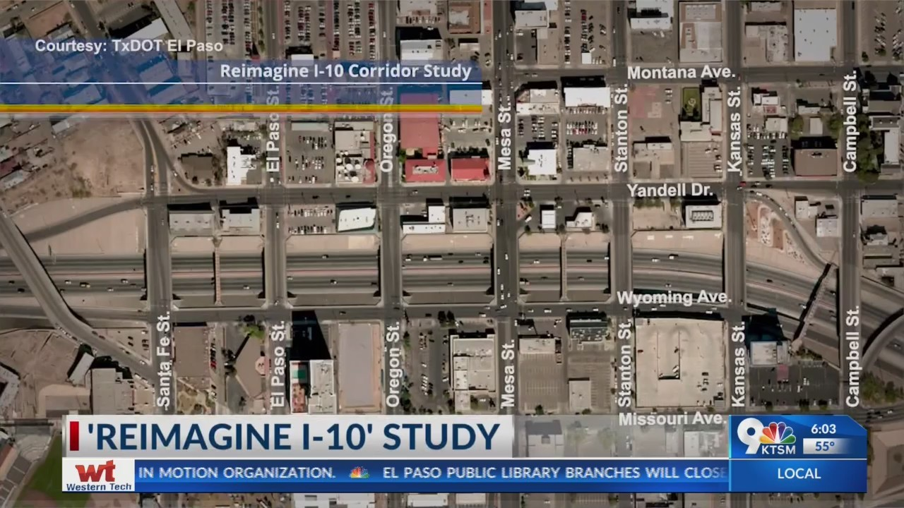 Public can share input on 'Reimagine I-10' project