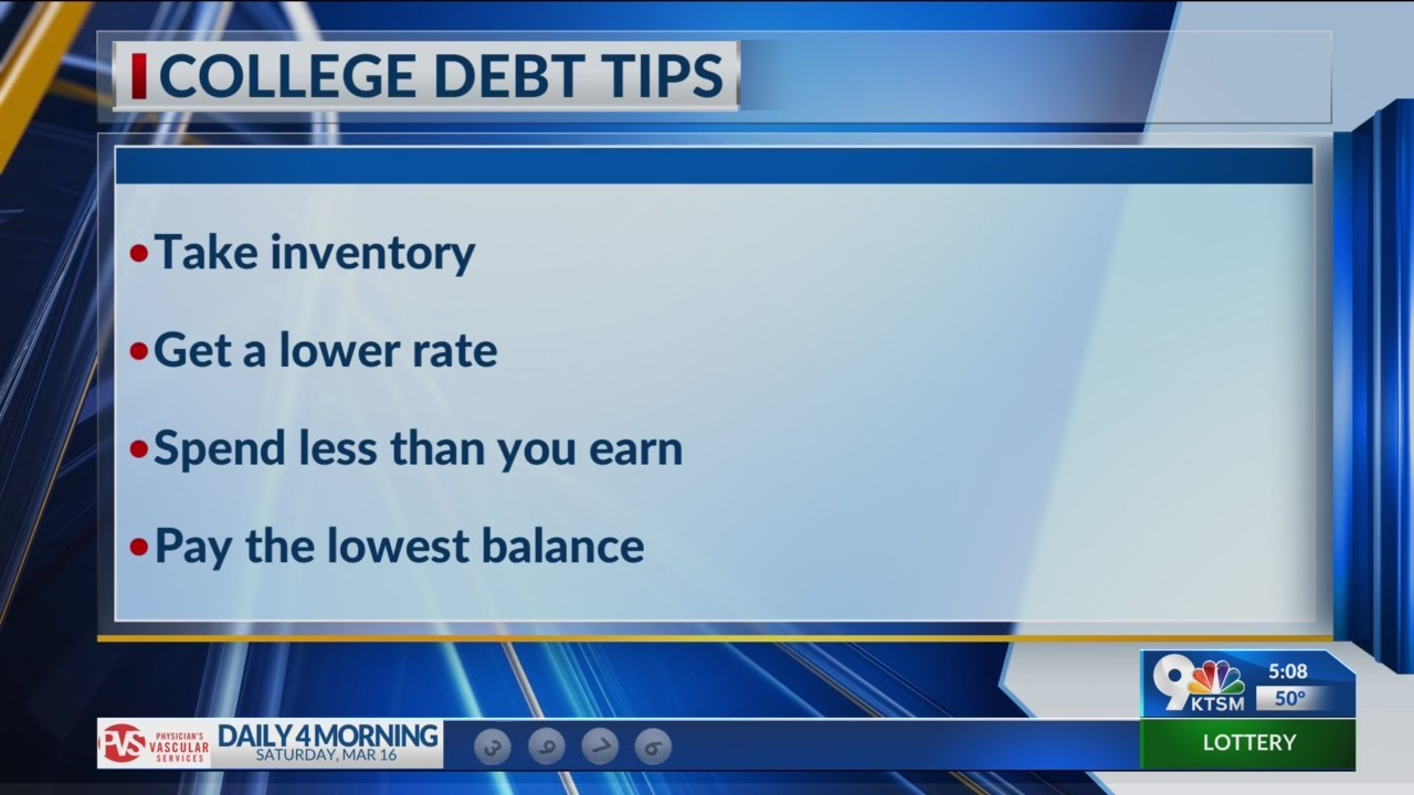 4 easy steps on how to get our of debt and stay out of steps