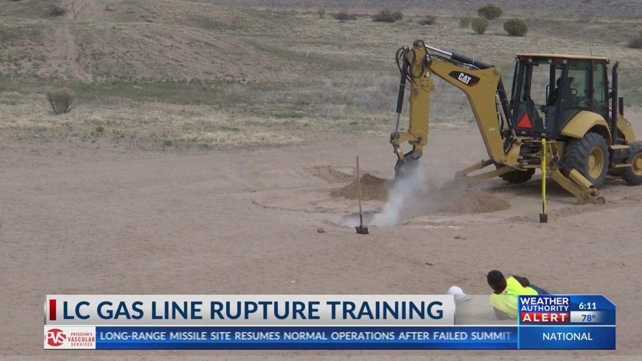 LC Gas line strike training