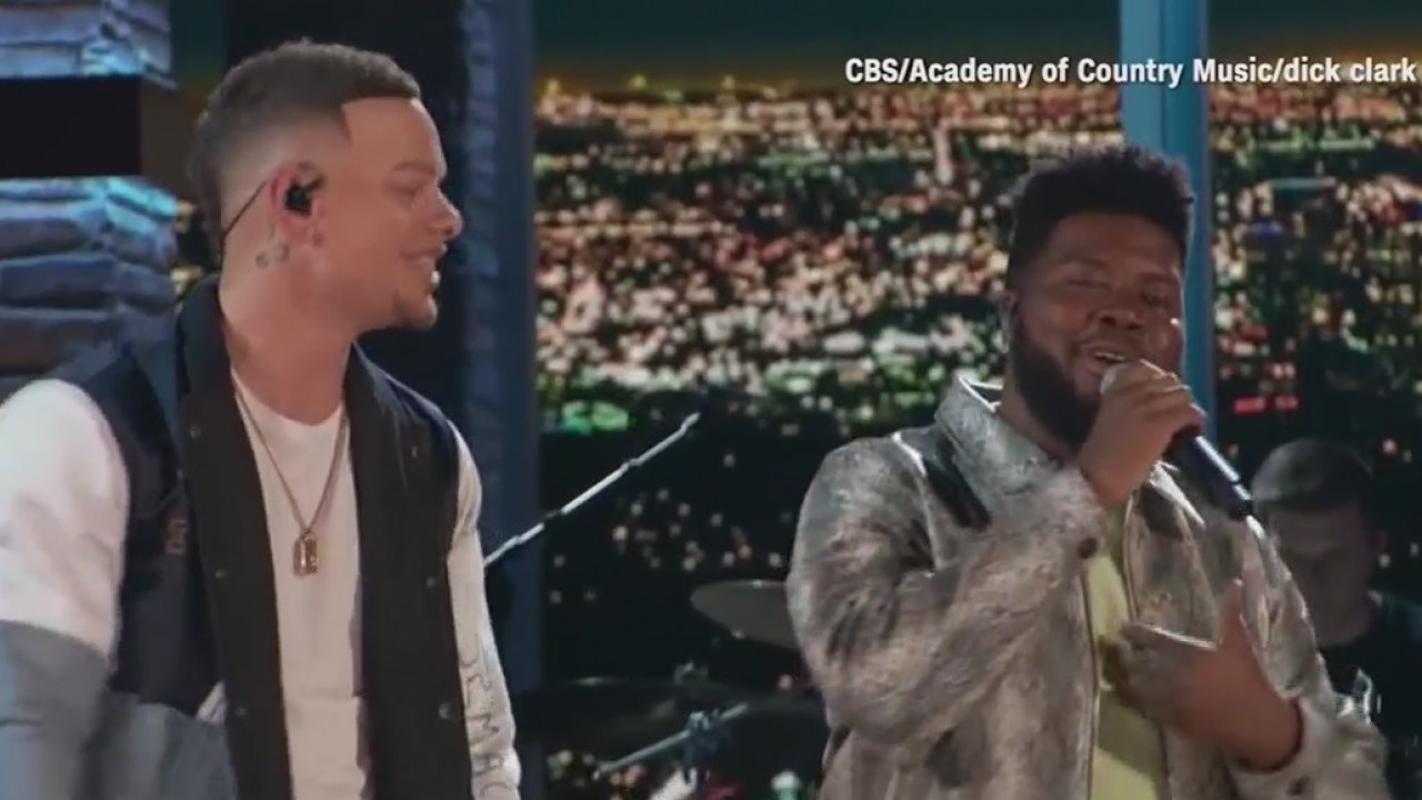 El Paso's Khalid performs alongside country star Kane Brown at ACMs