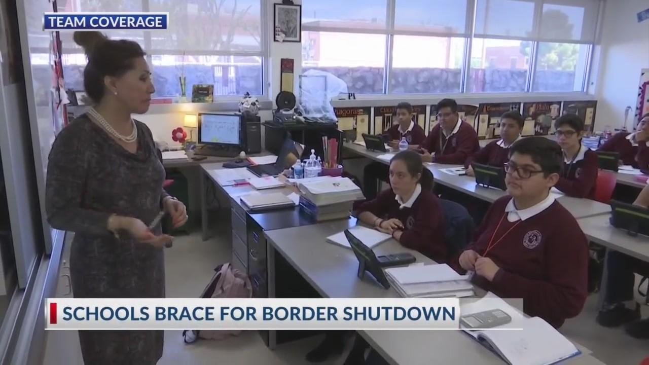 Schools brace for border shutdown