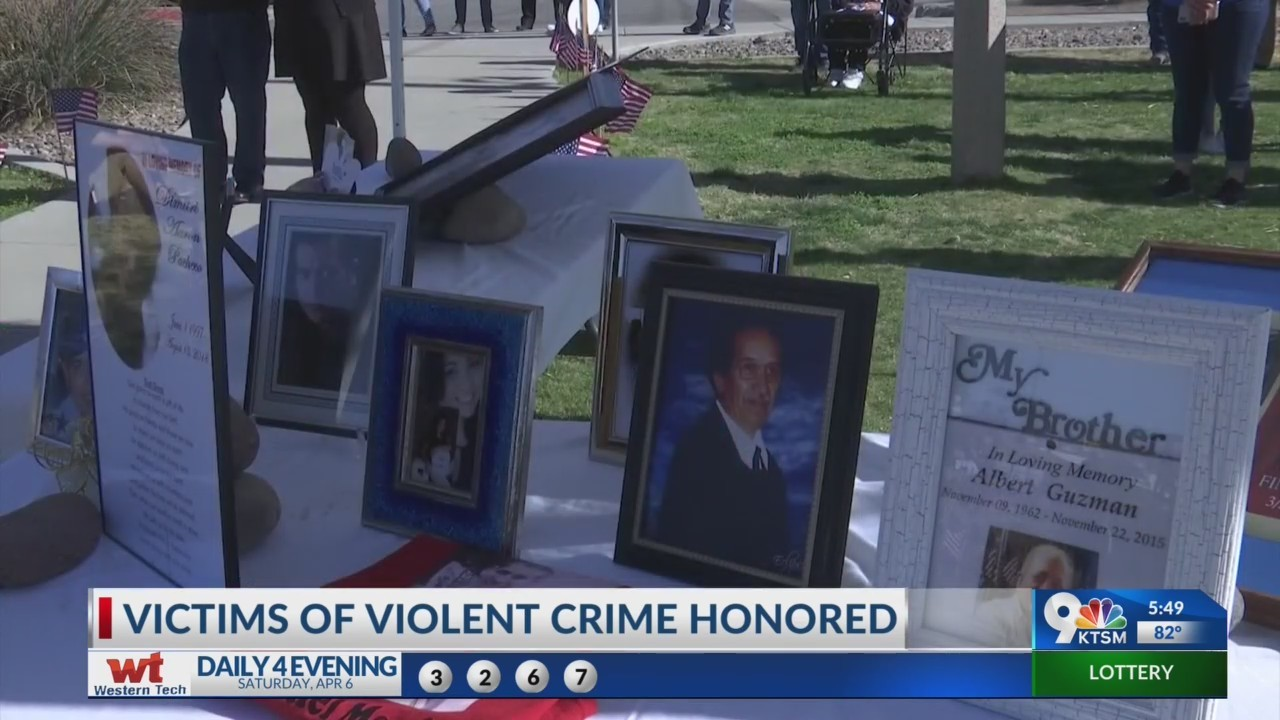 victims of violent crime honored