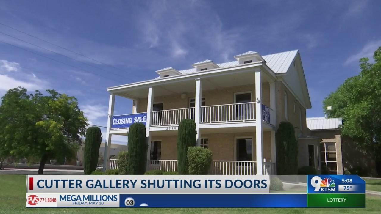 Cutter Gallery Closing its doors
