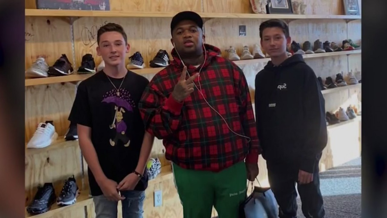 El Paso teenagers kick start own sneaker shop