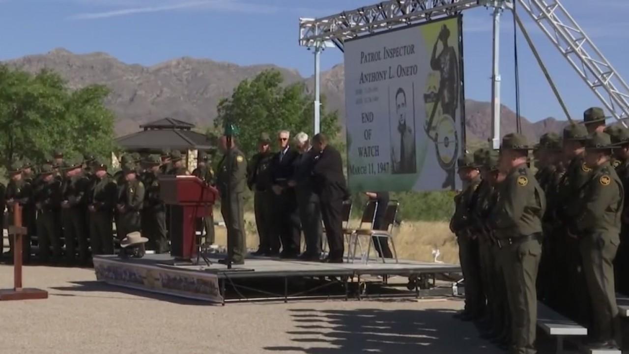 Fallen Border Patrol agents honored at memorial service