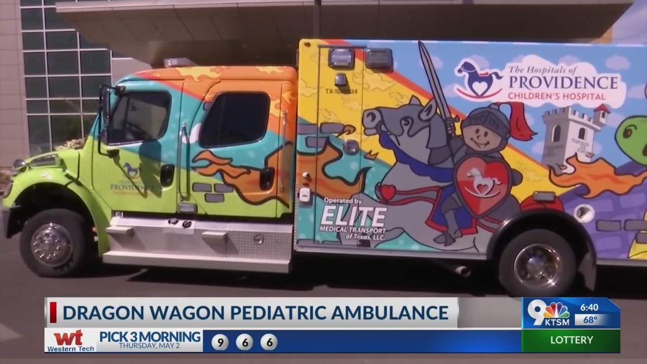 "First of its kind ambulance or ""Dragon Wagon"""