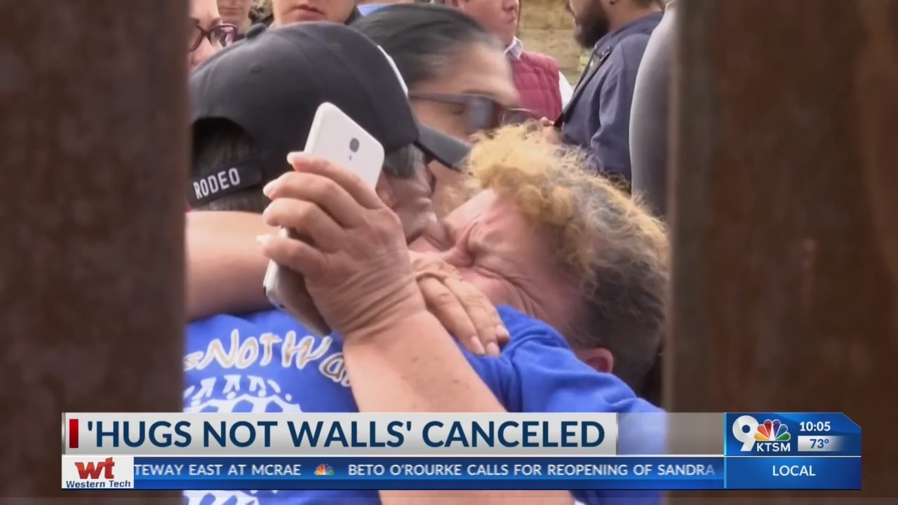 Mother's Day Hugs Not Walls canceled